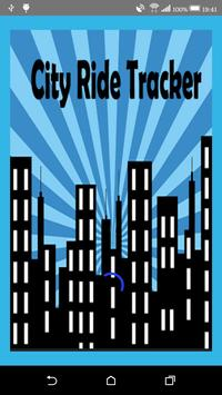 City Ride Tracker 2.0 poster