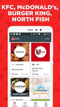 Qpony Rabaty Wyprzedaże Promocje Okazje kupony KFC poster