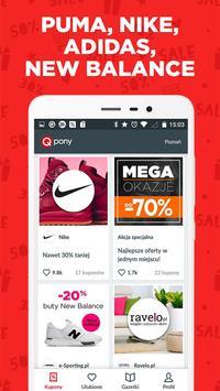 Qpony Rabaty Wyprzedaże Promocje Okazje kupony KFC apk screenshot