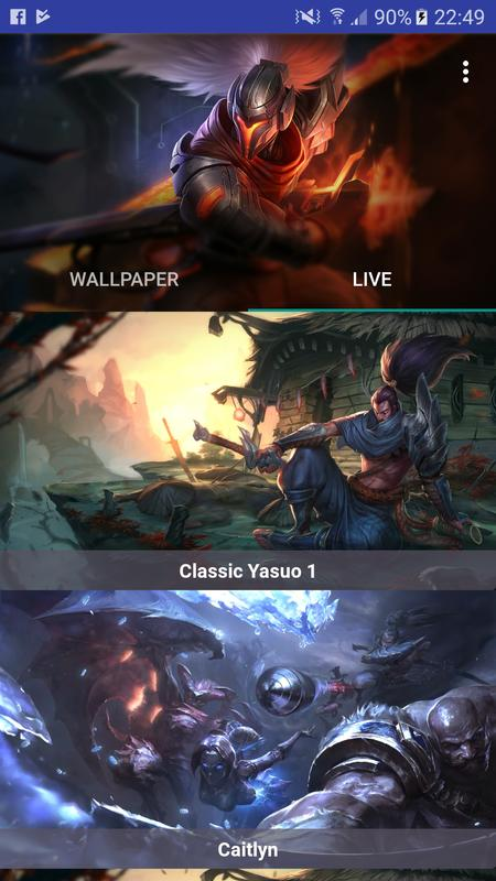 Project Yasuo Hd Live Walpaper For Android Apk Download