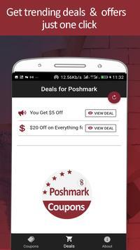 Coupons for Poshmark - Trendy Fashion Buy & Sell screenshot 2