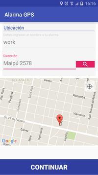 Alarm GPS  promobile apk screenshot