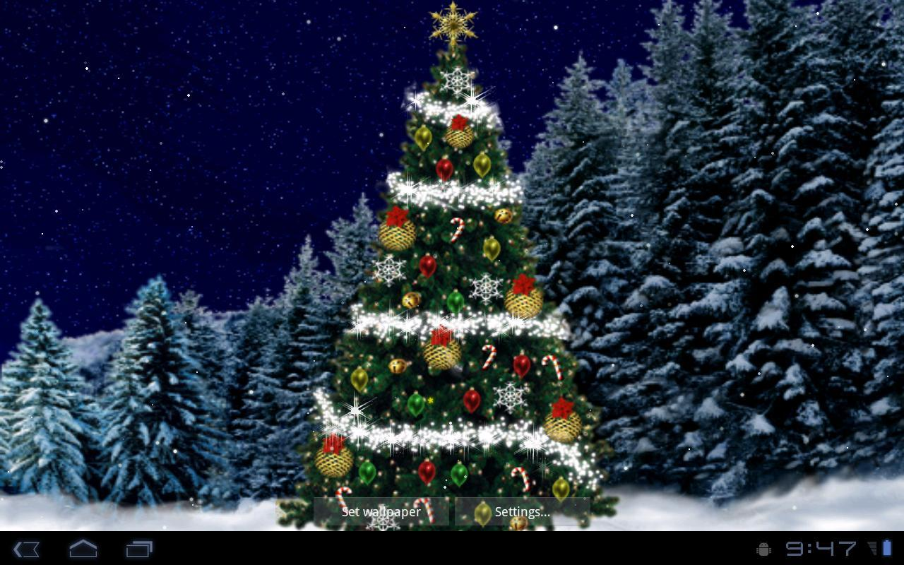 Christmas Tree Live Wallpaper For Android Apk Download