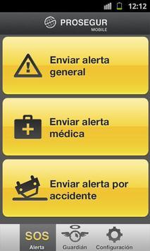Prosegur Mobile screenshot 1