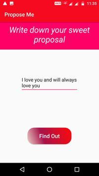 Propose Me screenshot 2