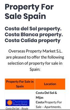 Costa Del Sol Property apk screenshot