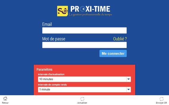 ProxiTime apk screenshot