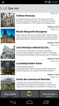 Montréal Easy Guide screenshot 4