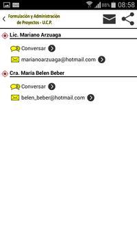 Formulación y Administración de Proyectos (U.C.P.) скриншот 4