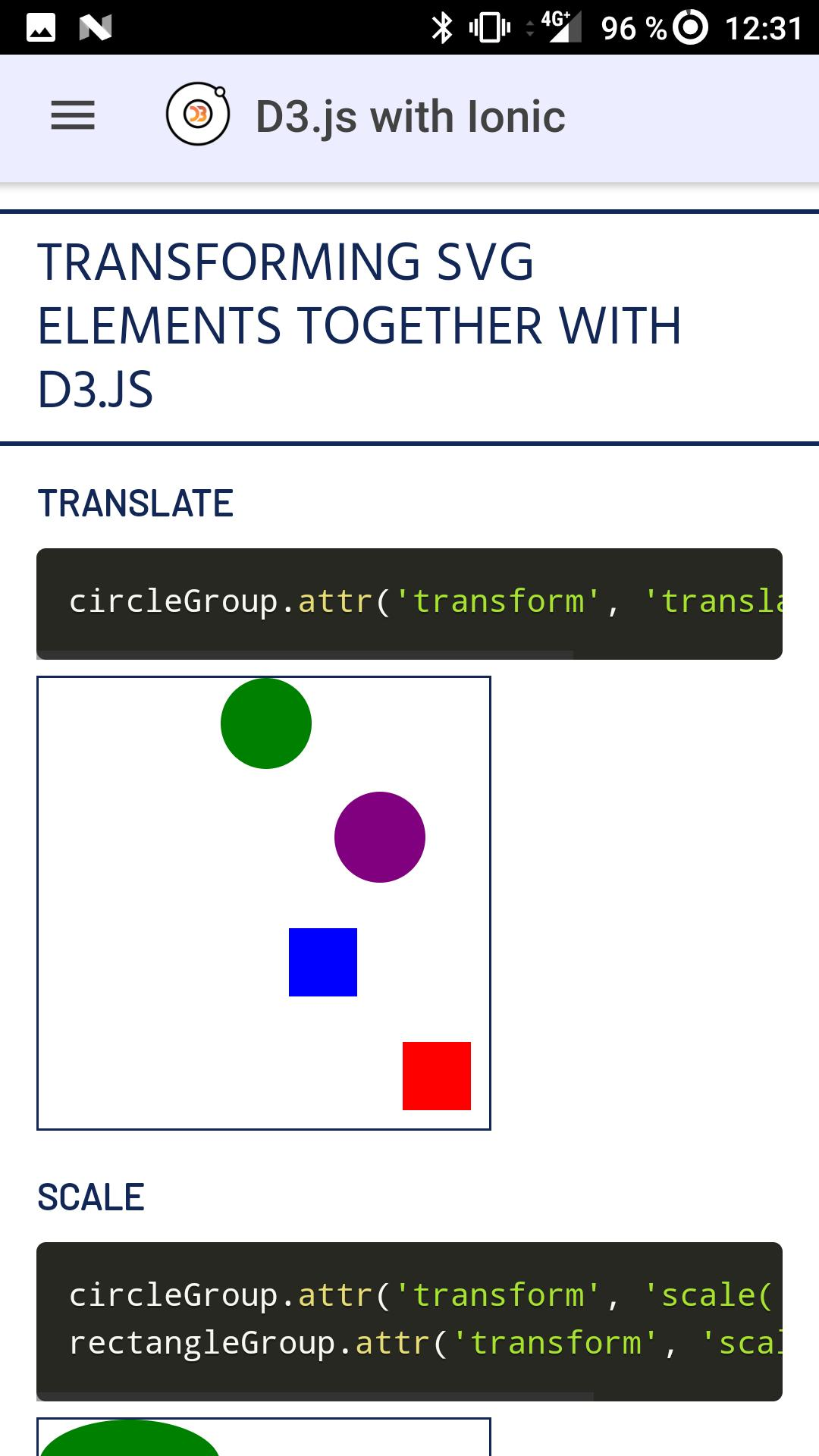 D3 js Ionic for Android - APK Download