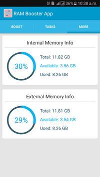 RAM Booster App apk screenshot