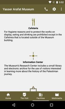 Yasser Arafat Museum apk screenshot