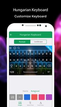 Hungarian Keyboard screenshot 5