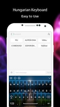 Hungarian Keyboard screenshot 1