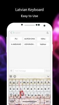 Latvian Keyboard apk screenshot