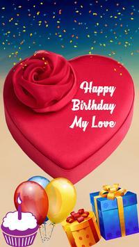 Name On Birthday Cake poster