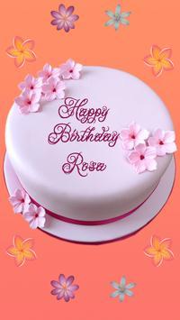 Name On Birthday Cake apk screenshot