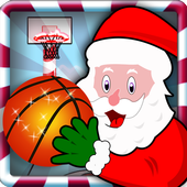 Santa Basketball Shot icon