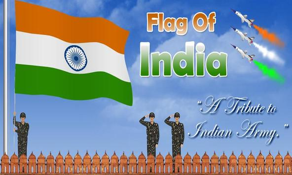 Flag Of India HD LWP apk screenshot