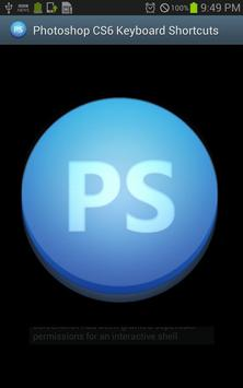 PS CS6 Keyboard Shortcuts Pro poster