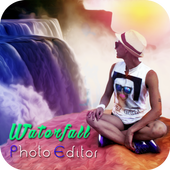 Waterfall Photo Editor icon