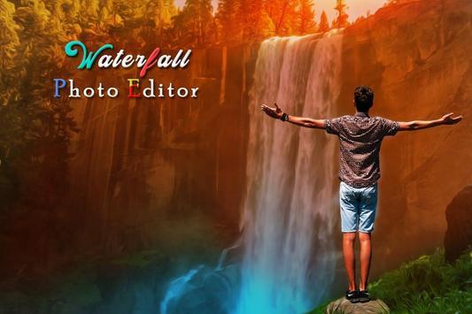 Waterfall Photo Editor poster