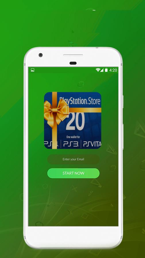PSN Code Generator Free Gift for Android - APK Download