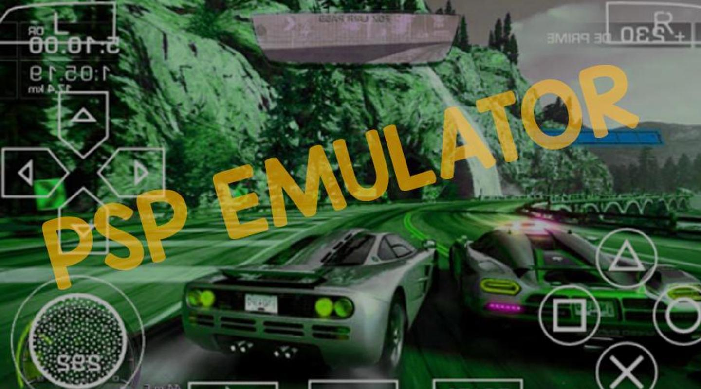 download racing games for psp emulator