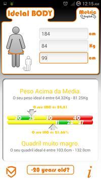 Calculator  BMI and BAI apk screenshot