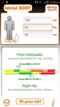Calculator  BMI and BAI poster