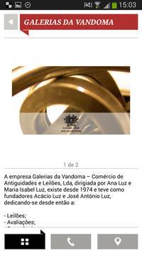 Galerias da Vandoma apk screenshot
