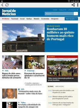JN - Jornal de Notícias apk screenshot