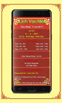 Lich Van Nien 2017 - Lịch Âm screenshot 5