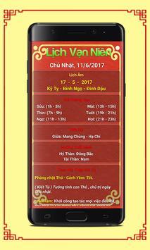 Lich Van Nien 2017 - Lịch Âm screenshot 8