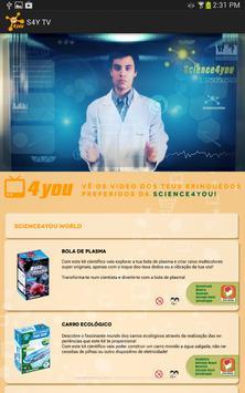 Science4you TV screenshot 2