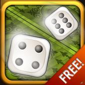 Board Games: Backgammon and Dice icon