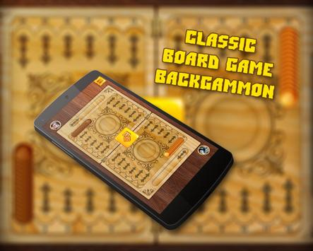 Board Games: Backgammon and Dice poster