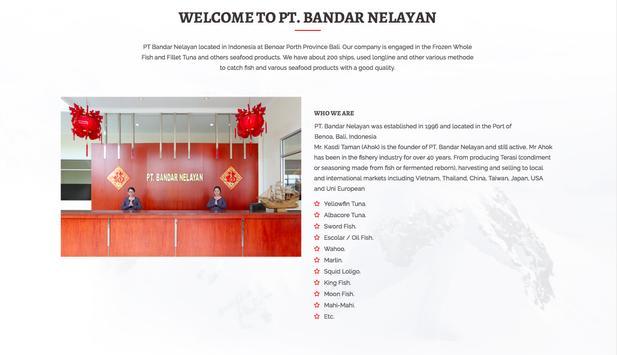 PT. Bandar Nelayan screenshot 1