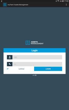 myTeam Assets Management screenshot 1