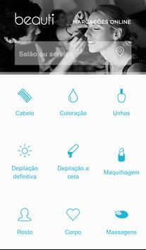 Beauti - marcações online poster