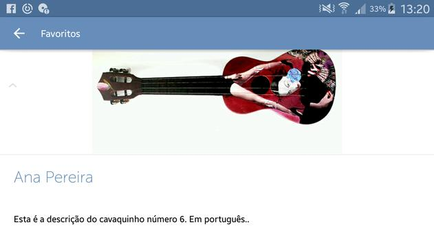 Cavaquinho Exhibition (Unreleased) apk screenshot