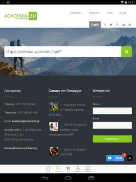 Academia ZONAVERDE apk screenshot