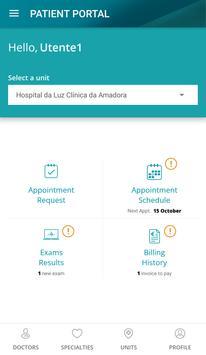 Hospital da Luz apk screenshot