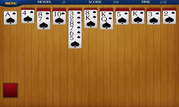 eSpiderSolitaire screenshot 2