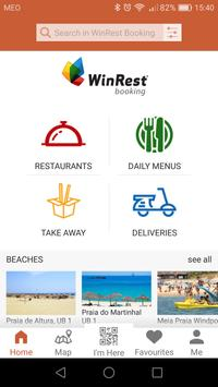 WinRest Booking – Restaurants and Beach Beds poster