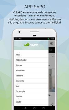 SAPO screenshot 4