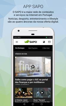 SAPO screenshot 5