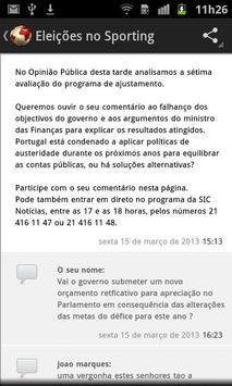 SIC Notícias screenshot 1