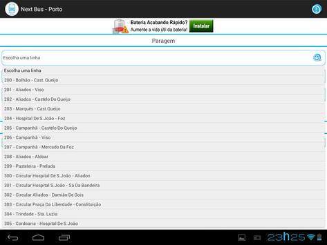 Next Bus - Porto screenshot 3