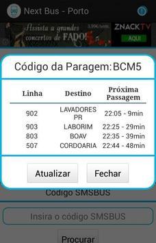 Next Bus - Porto screenshot 1